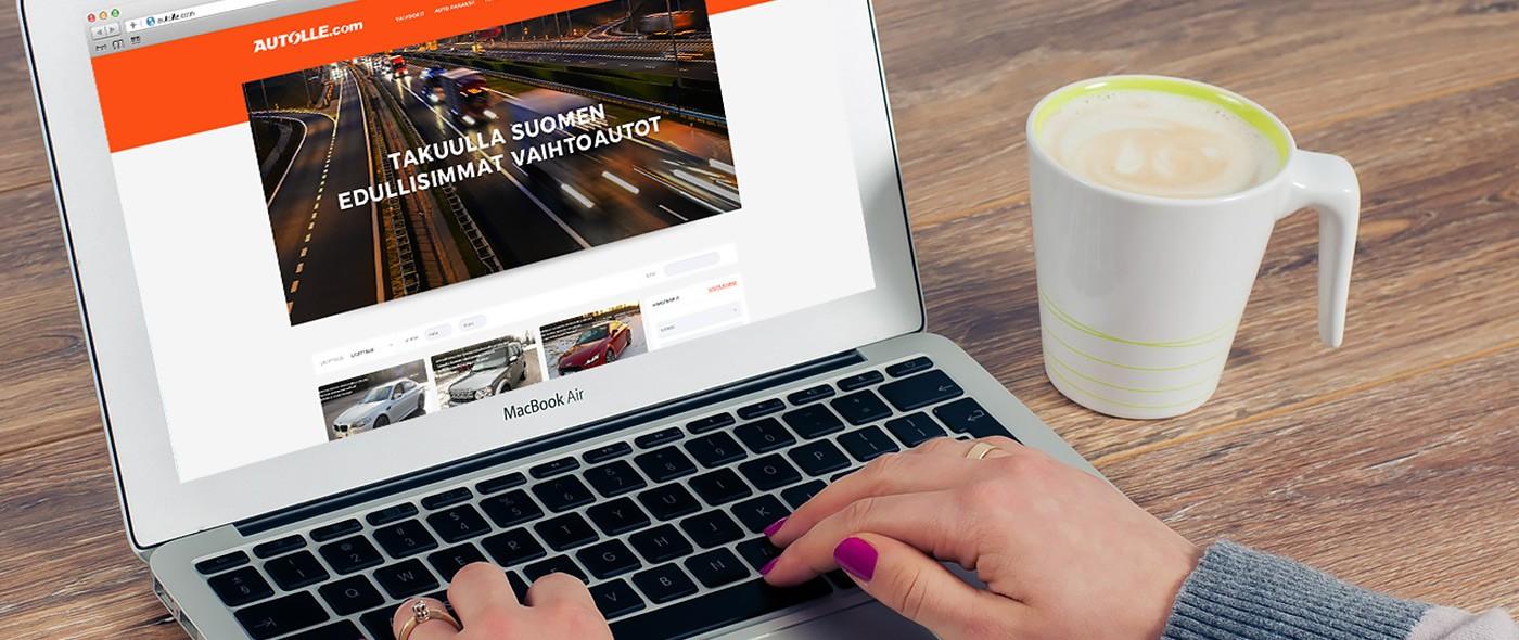 Autolle.com sivuston uudistus