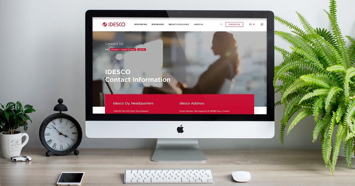 Idescon räätälöity WordPress-sivusto - Projektit - LumoLink