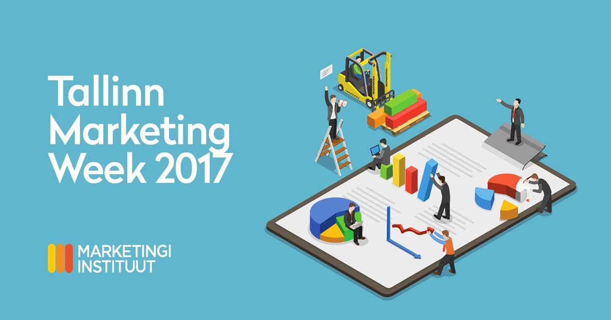 Markkinoinnin automaation infopaketti Tallinn Marketing Weekissä LumoLink