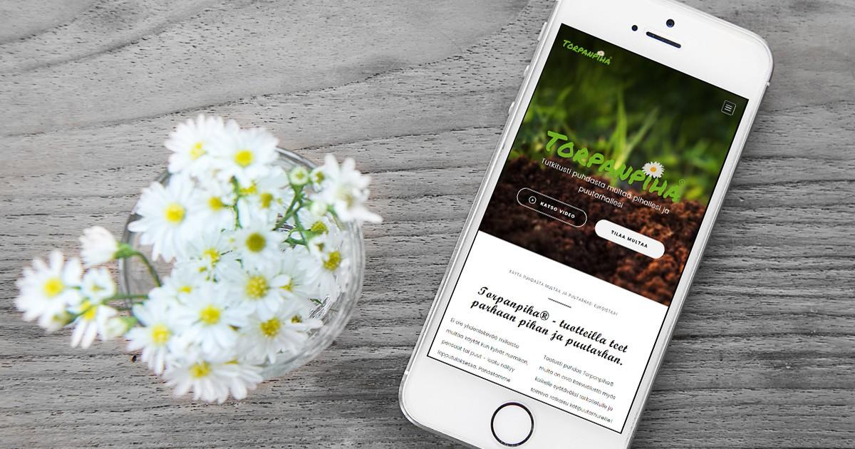 Torpanpiha WordPress sivusto