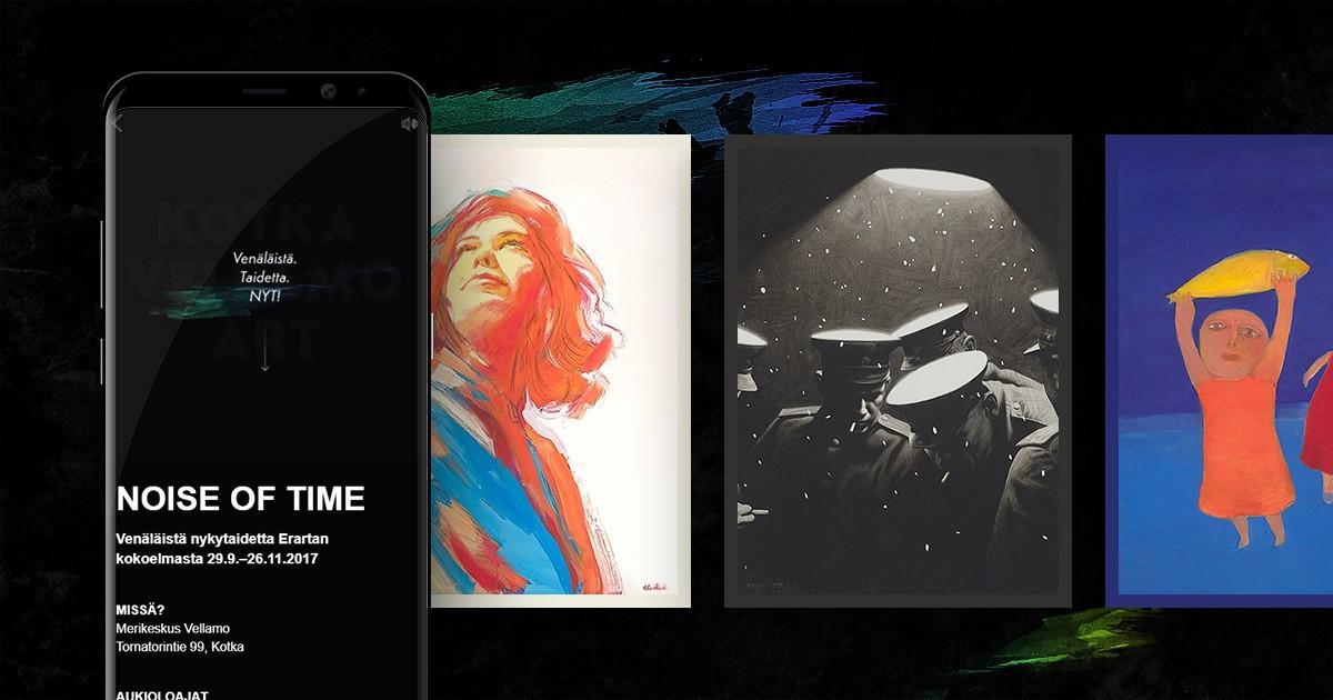 Case: Noise of Time – taidenäyttely esille uudella tavalla