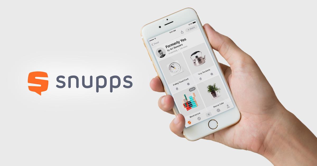 Snupps – Orgaanista näkyvyyttä kasvavalla alustalla