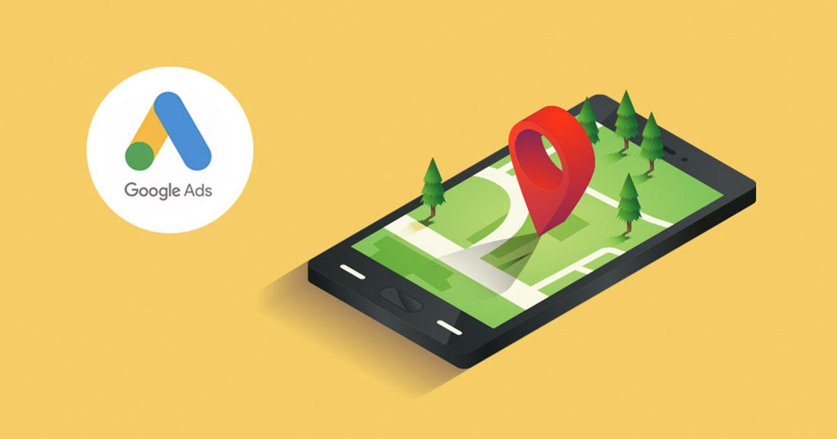 google ads mainonnan maantieteellinen kohdennus