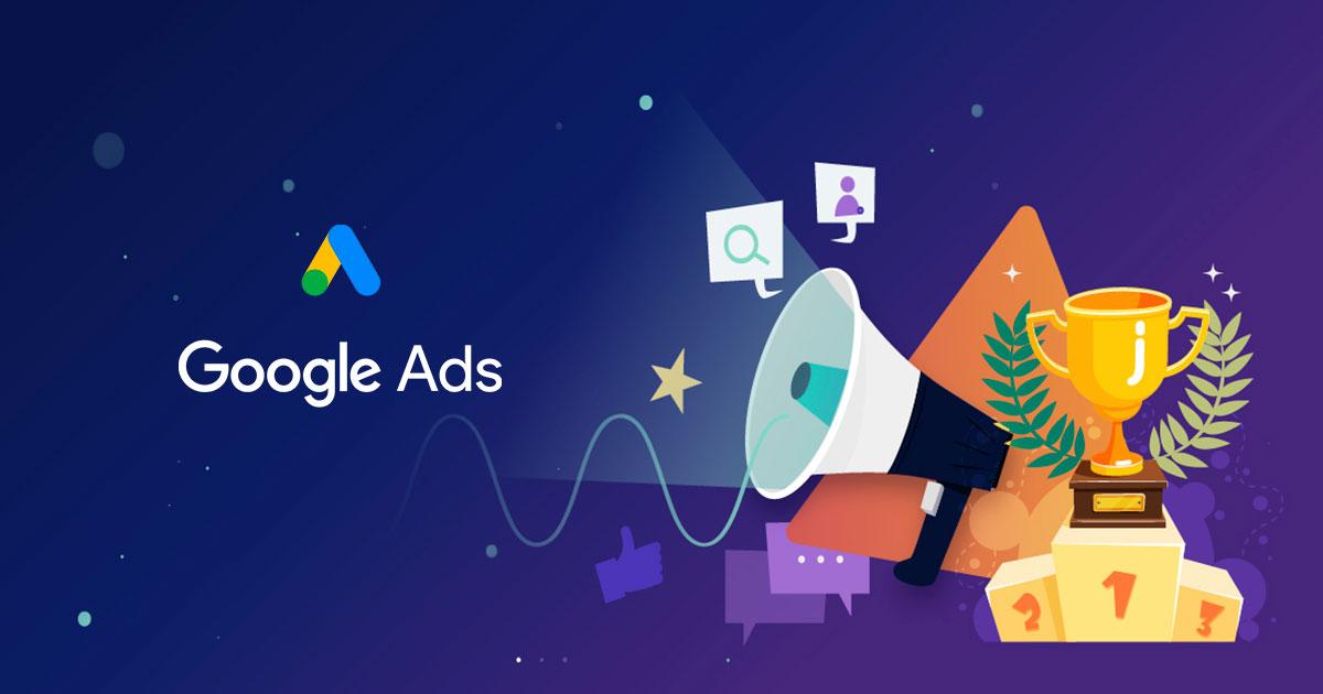 Google Ads kilpailu