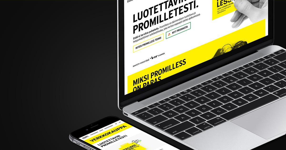 Case Promilless: Vauhtia tuotemyyntiin innovatiivisilla markkinointiratkaisuilla